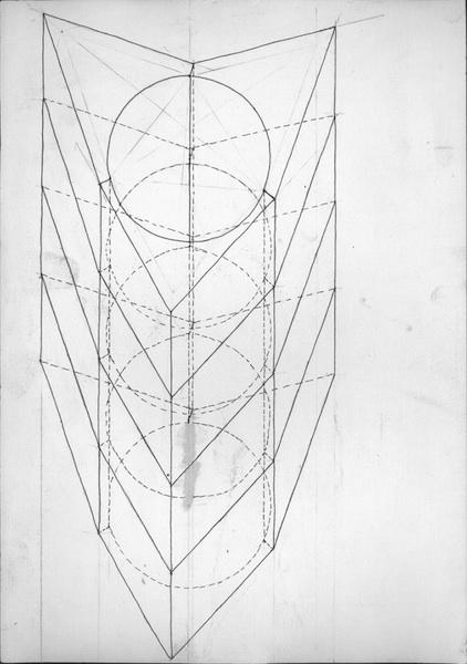 1989.1.000  sculpture tekening